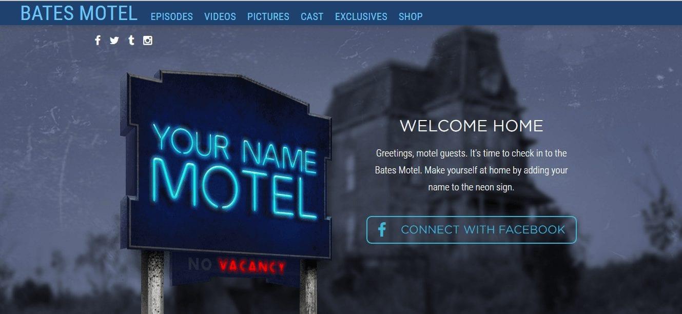 bates motel web