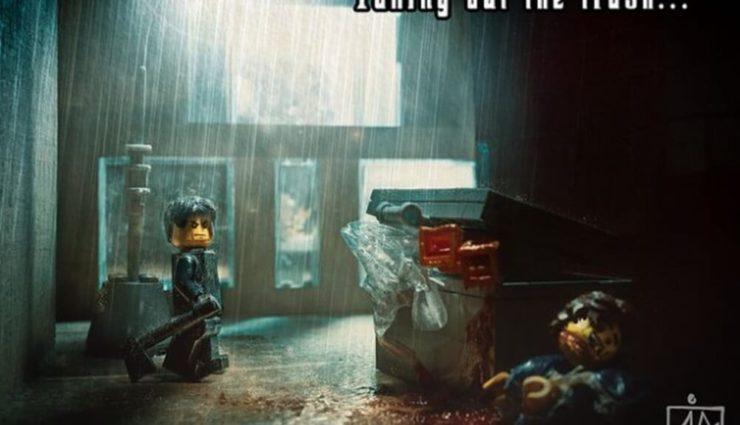"""Lego'dan """"Katil Fotoğraf Serisi"""""""