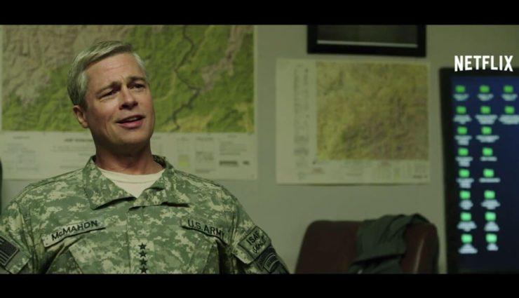 Brad Pitt'in Yeni Filmi War Machine'den İlk Fragman ve Görüntüler