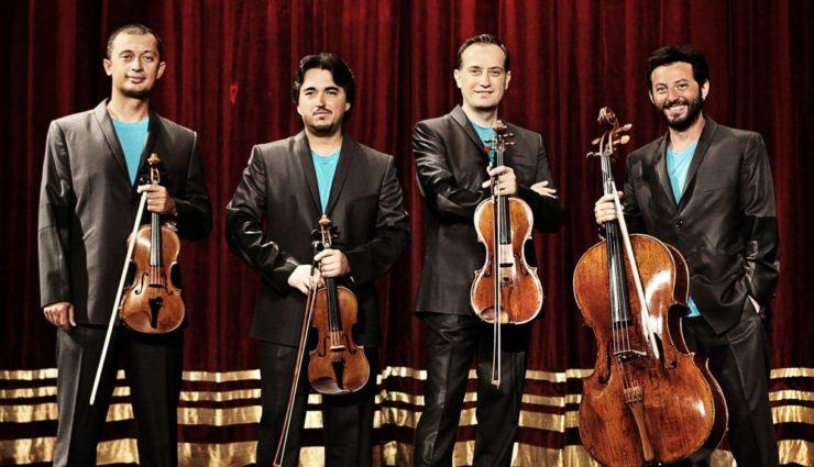 Borusan Quartet Astor Piazzola Eserleriyle Sahnede