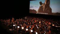 Sinema Senfoni Orkestrası Lord of The Rings için Sahnedeydi