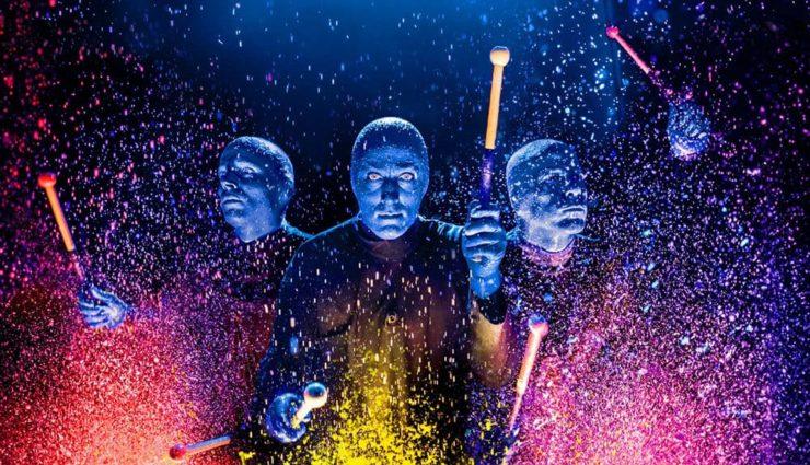 Blue Man Group 2018'de Zorlu PSM'de