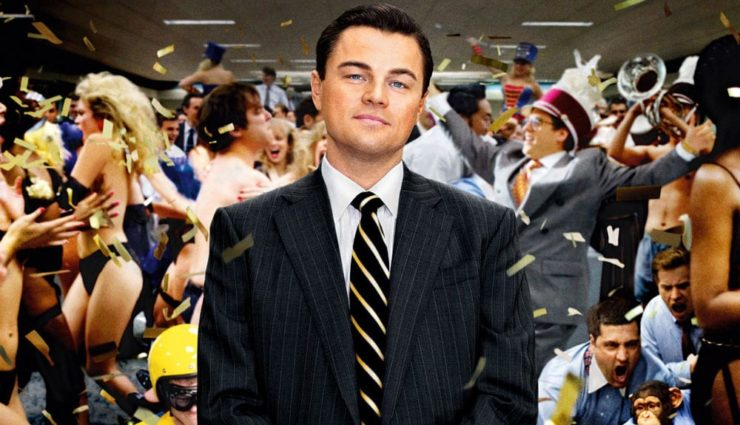 The Wolf of Wall Street Sony Channel'da