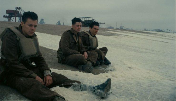 Christopher Nolan ile Fionn Whitehead ve Harry Styles Dunkirk Hakkında Konuşuyor