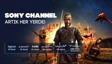 Sony Channel Yayın Alanını Büyütüyor