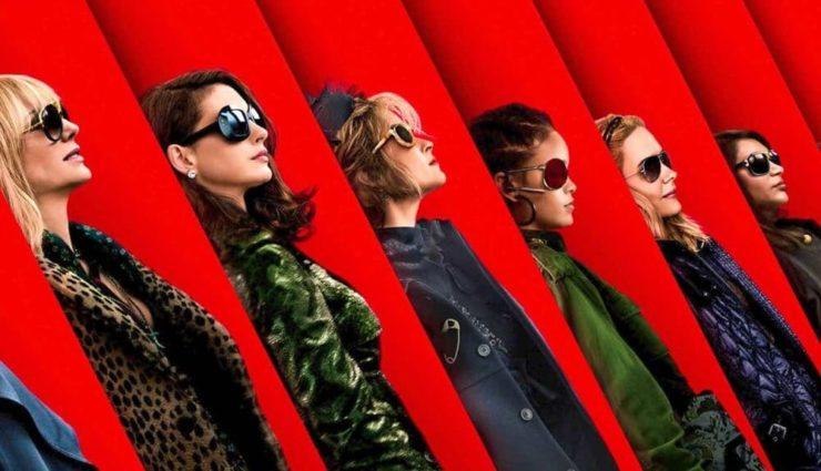 Sandra Bullock, Cate Blanchett ve  Anne Hathaway Ocean's 8 ile Sinema'da