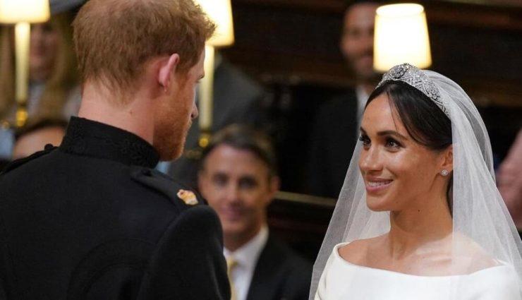 Prens Harry ve Meghan Markle'ın Kraliyet Düğünü'nün Resmi Kaydı Yayınlandı