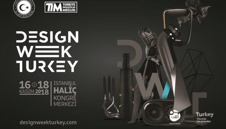 Design Week Turkey 2018 Haliç Kongre Merkezi'nde Başlıyor