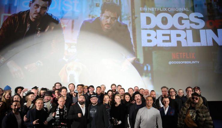 Netflix Orijinal Dizisi Dogs of Berlin'in Prömiyeri Gerçekleşti
