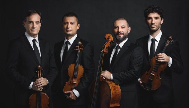 """Dünyaca Ünlü Bas Bariton Shenyang ve Borusan Quartet """"Die Winterreise"""" ile  İş Sanat Konser Salonu'nda"""