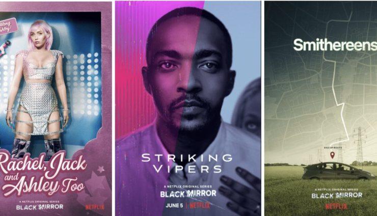 Black Mirror 5. Sezon Bölüm Afişleri Paylaşıldı