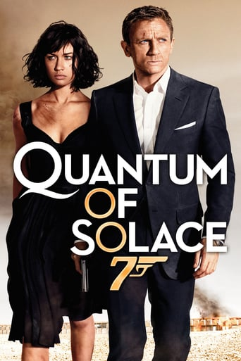 James Bond: Quantum of Solace poster