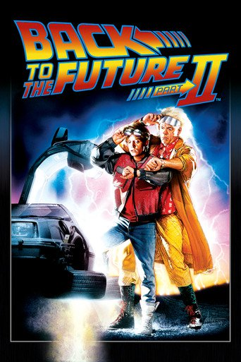 Geleceğe Dönüş 2 poster