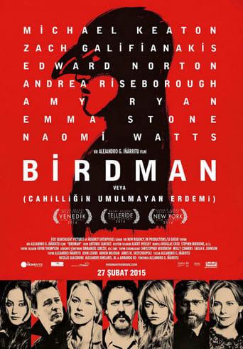Birdman veya (Cahilliğin Umulmayan Erdemi) poster