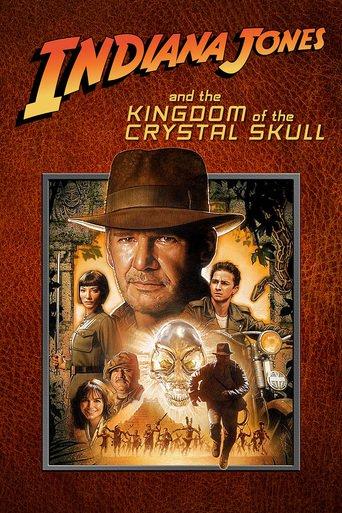 Indiana Jones: Kristal Kafatası Krallığı poster